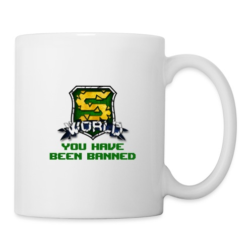 YOU HAVE BEEN BANNED ! - Mug blanc