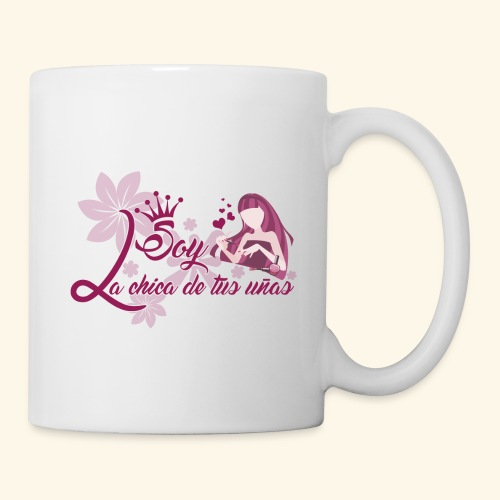 LA CHICA DE TUS UÑAS - Taza