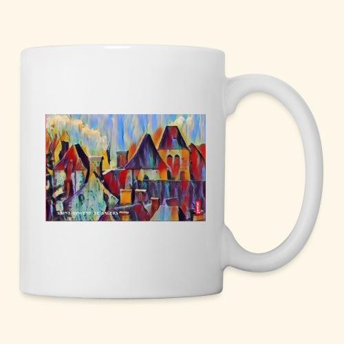 Saint vincent abstract - Mug blanc