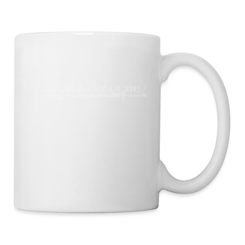le gras c'est la vie! b - Mug blanc