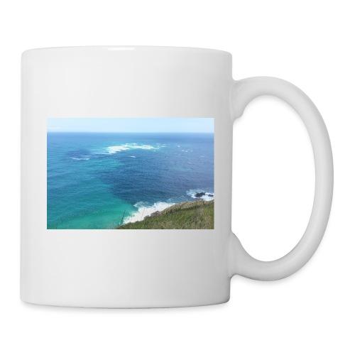 Pazifik türkis blau Natur - Cape Reinga Neuseeland - Tasse