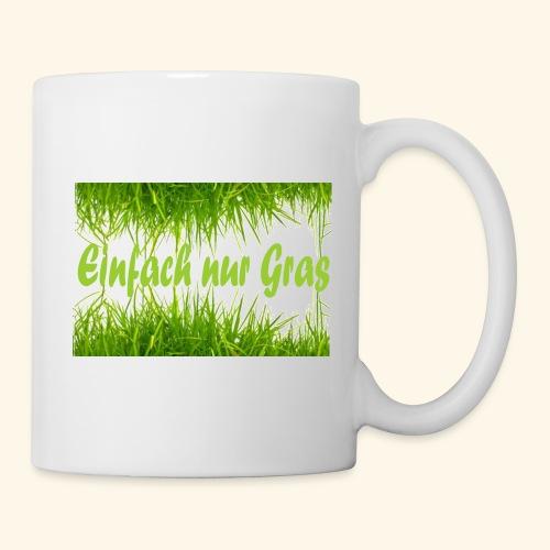 einfach nur gras2 - Tasse