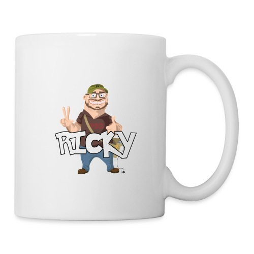 RICKY - Mug blanc