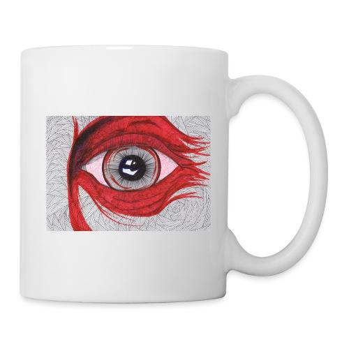 Auge - hypnotischer Blick - Tasse