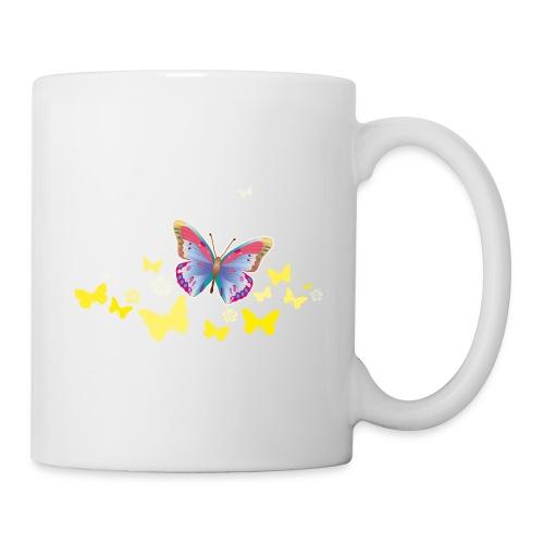Schmetterlinge Falter Insekten Frühling Sommer - Mug