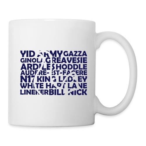 spurs cockerel text - Mug