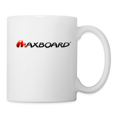 Maxboard Logo black 3D - Tasse