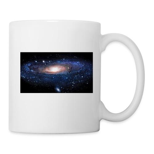 Galaxy - Mug blanc