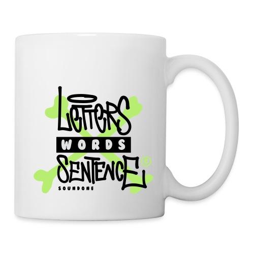 letters words sentence - Kubek