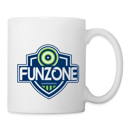 Funzone_logo_ljus_bakgrund - Mugg