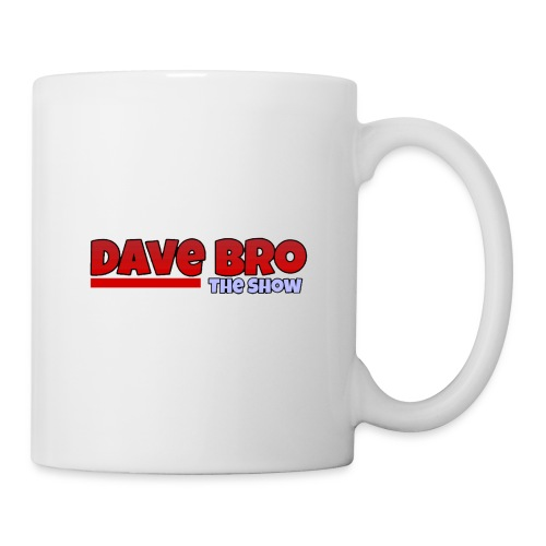 Dave Bro Logo - Tasse