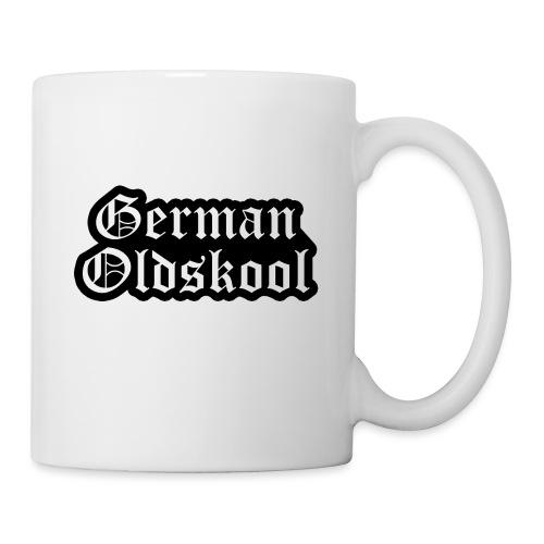 Grand Logo German Oldskool Official - Mug blanc