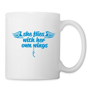 She flies... - Tasse
