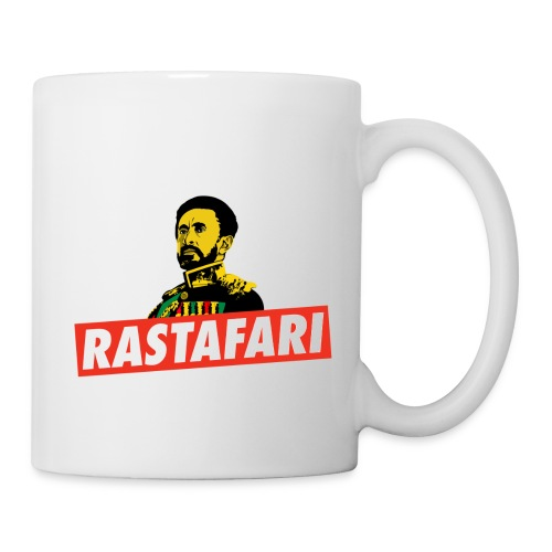 Rastafari - Haile Selassie - HIM - Jah Rastafara - Tasse