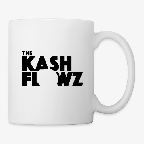 The Kash Flowz Official Black - Mug blanc