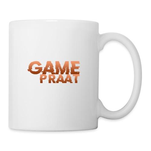 GamePraat Logo Oranje - Mok