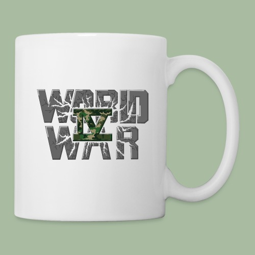 World War 4 - Mug blanc