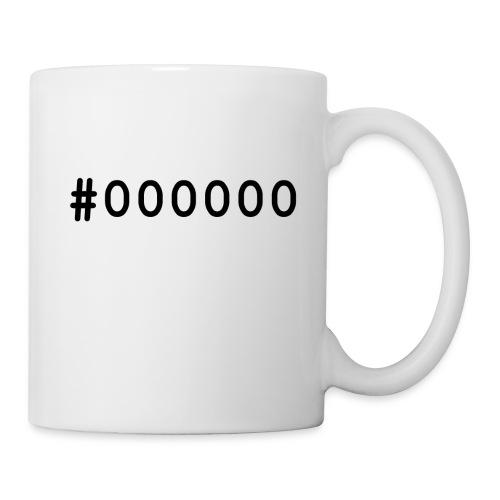 000000 - Mug blanc