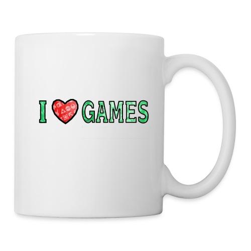 I Love Games - Kubek