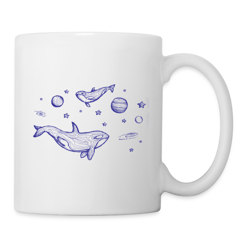 Fliegende Wale - Tasse