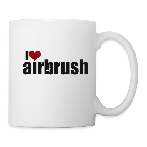 I Love airbrush - Tasse