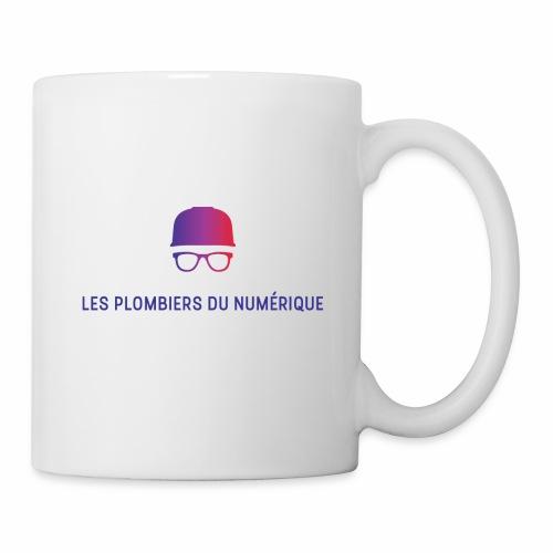 Les Plombiers du Numérique - Mug blanc