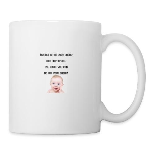 daddy tshirt sort tekst - Mug