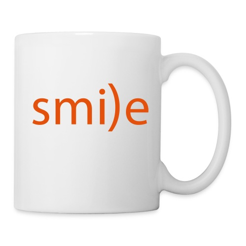 smile Emoticon lächeln lachen Optimist positiv yes - Mug