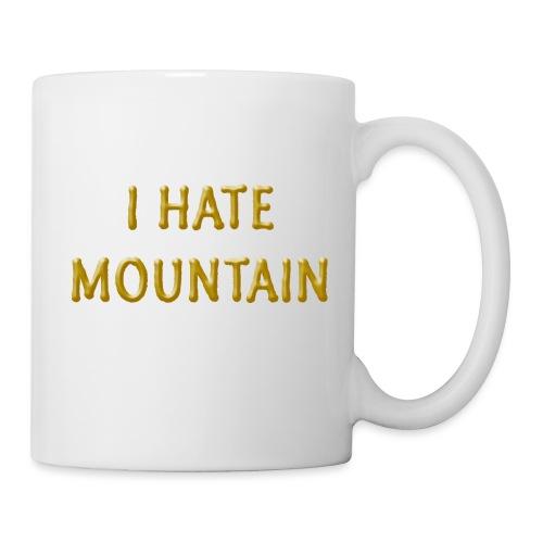 hate mountain - Tasse