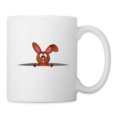 Cute bunny in the pocket - Tazza