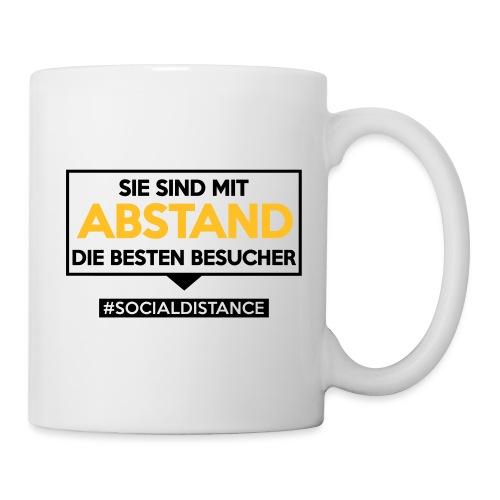 Sie sind mit ABSTAND die besten Besucher. sdShirt - Tasse