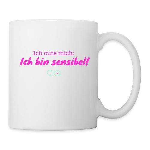 Ich oute mich (pink) - Tasse