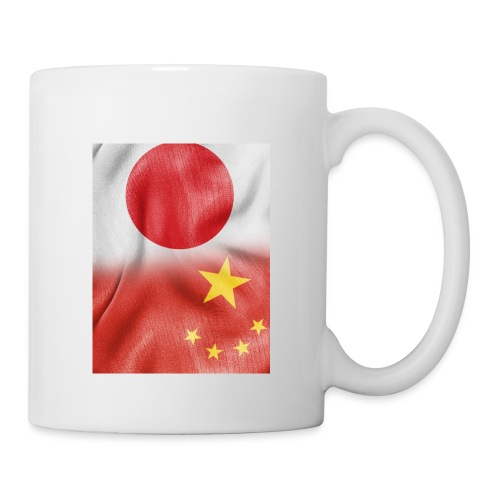 japan china flag - Tazza