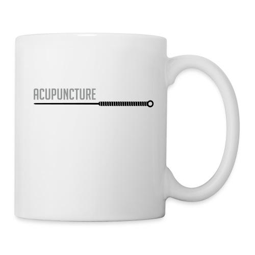 Acupuncture aiguille - Mug blanc