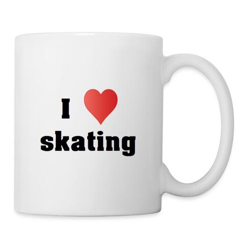i love skating - Tasse