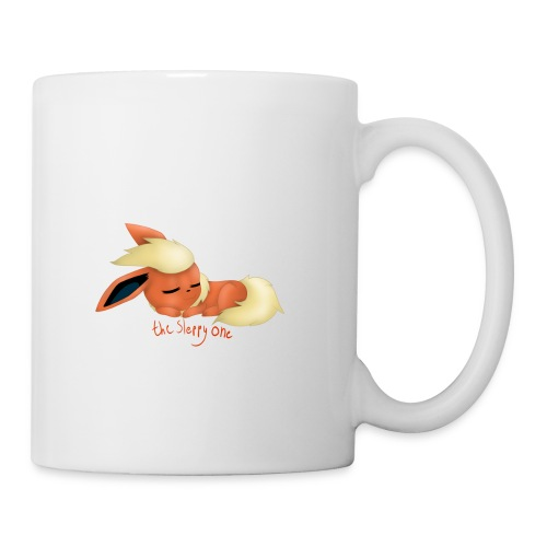 eevee - flareon - the sleppy one - Mug