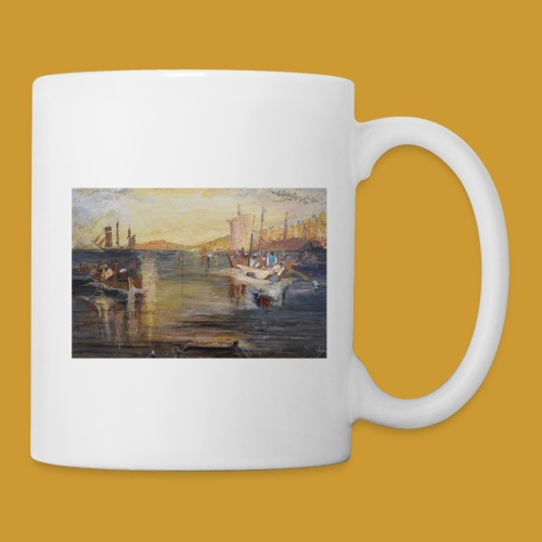 White Fishing - Mark Noble Art - Mug