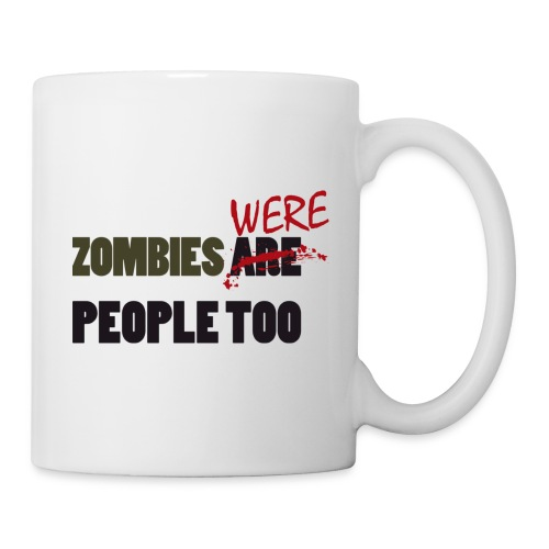 zombies were people too - Taza