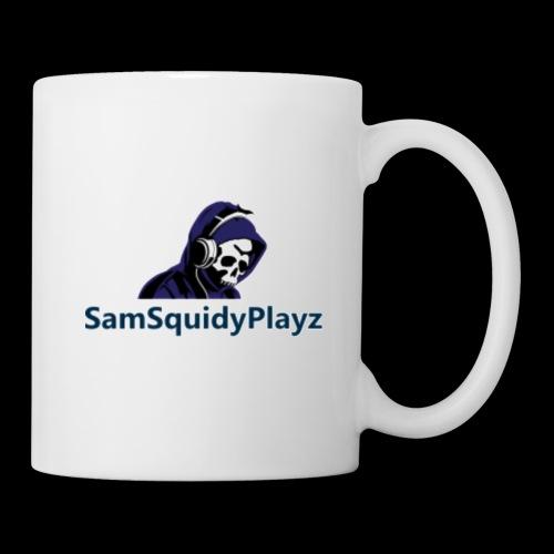 SamSquidyplayz skeleton - Mug