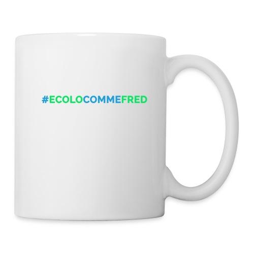 ecolocommefred - Mug blanc