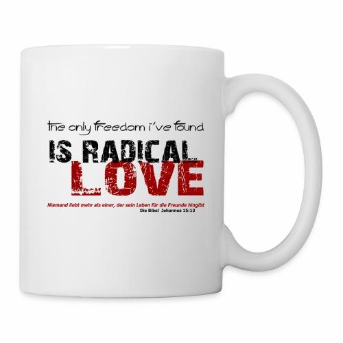 Radikale Liebe black - Tasse
