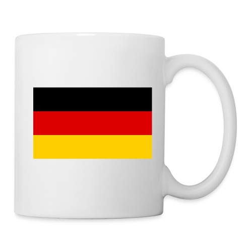 2000px Flag of Germany svg - Tasse