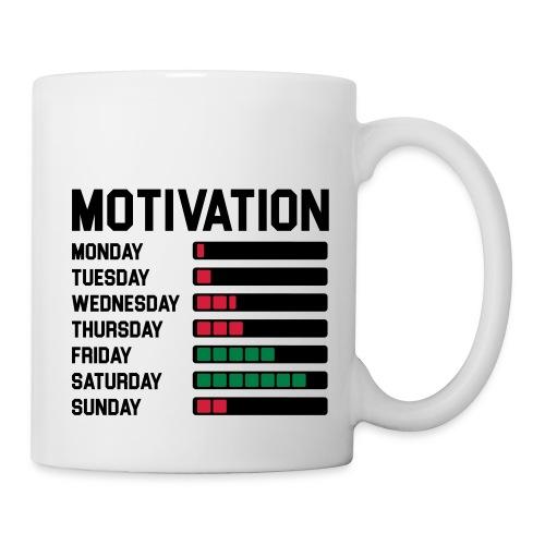 Wochen Motivation - Tasse