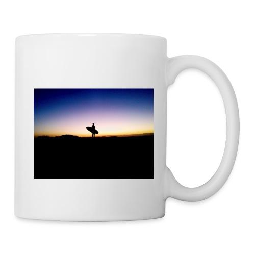 Surfer Sunset Silhouette - Mug