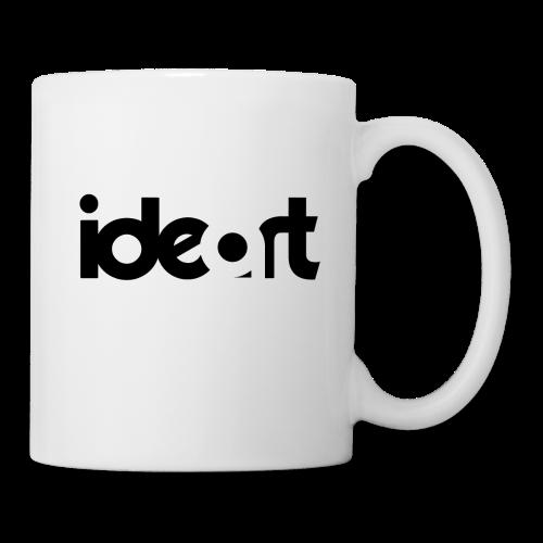 ideart logo sort - Kop/krus