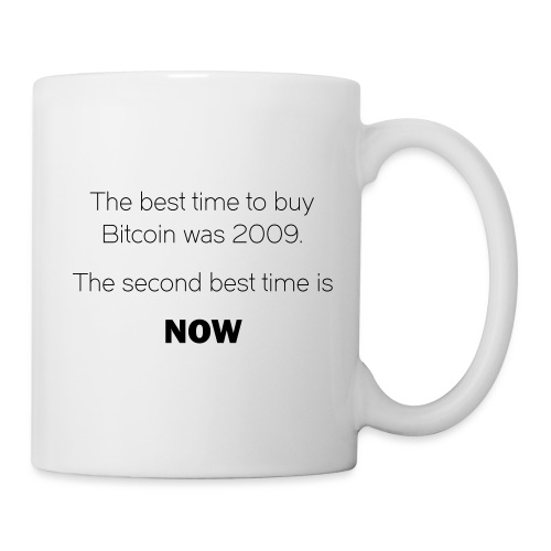 CryptoFR the best time to buy - Mug blanc