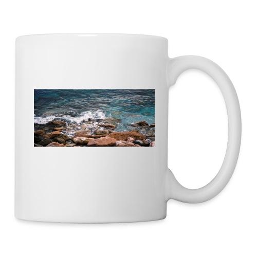 Handy Hülle mit Wellenmotiv - Tasse