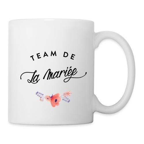 team de la marieée - Mug blanc