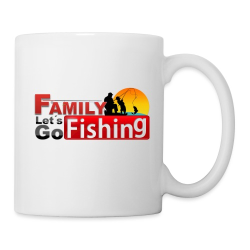 FAMILY LET´S GO FISHING FONDO - Taza