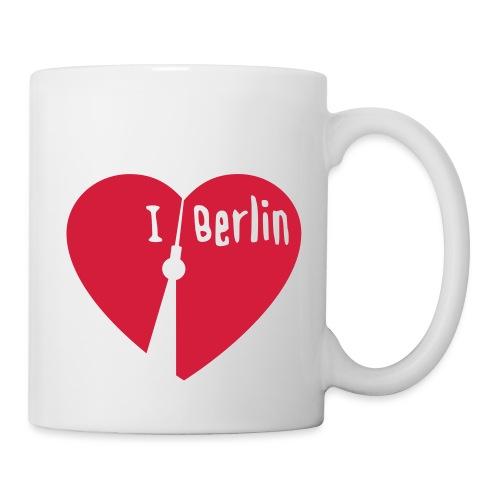 I love Berlin (1-farbig) - Tasse
